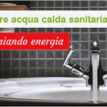 Produrre acqua calda risparmiando